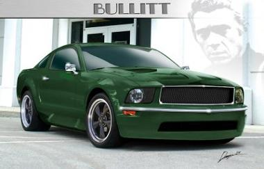 Mustang Bullitt 2008